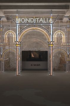 Illuminated archway unveiled at Venice Architecture Biennale - Adelto