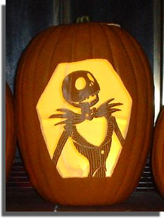 ☆ Jack Skellington Pumpkin ☆