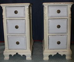 Circa 1910 Side Tables Chests Repurposed from An Antique Dressing Vanity | eBay