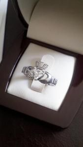 The leading peer to peer website for buying and selling diamonds, jewelry and watches. Heart Shaped Engagement Rings, Diamond Engagement Rings, My Heart Is Yours, Luck Of The Irish, Claddagh, Wedding Things, Wedding Bells, Bling Bling, Heart Shapes