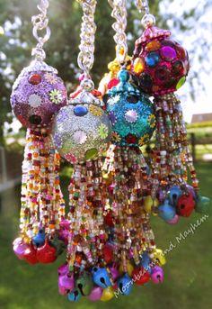 ♥ ~ Moonbeams Gypsy Bells Keyring / Bag Charms ~ £5.75 ~ 'SHOP' at Moonbeams and Mayhem here : http://stores.ebay.co.uk/Moonbeams-Bazaar?_rdc=1 ~ Join My Colourful World on Facebook here : https://www.facebook.com/MoonbeamsandMayhem?ref=hl
