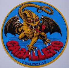 Steve Caballero, 1980, VCJ by spider™, via Flickr