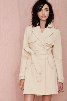 Nasty Gal Flash Out Trench Coat | Shop Clothes at Nasty Gal
