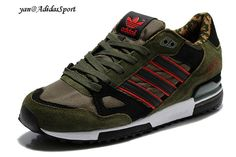 Adidas Originals ZX 750 Mens running shoes Camouflage-Army Green/Black/Red HOT SALE! HOT PRICE! Adidas Originals, Adidas Camouflage, Adidas Running Shoes, Sneakers Fashion, Me Too Shoes, Choices, Fashion Beauty, Adidas Sneakers, Stuff To Buy