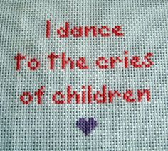 Craftster Pick of the Week! - Kawaii and Subversive Stitches from ... OMG I straight up need this for my classroom!!!