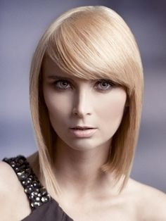 Bangs for short and fine hair