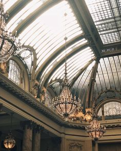 "andantegrazioso: "" The palace hotel's 1909 atrium for tea time | saintsignora """