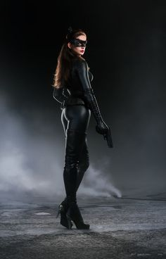 Catwoman, but Not Anne Hathaway