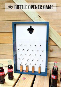 DIY Bottle Opener Game - Jaime Costiglio