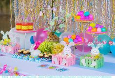 Love the colors of this whole party...worth going to original web page and checking out the rest of this party