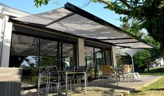 Comparing the patio awning modern patio awning HHSXAOG