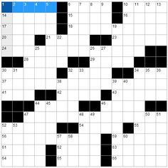 Cool Fun and Witty Online Crosswords to Exercise Your Mind  - http://www.highfivesites.com/cool-fun-and-witty-online-crosswords-to-exercise-your-mind/