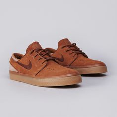 "Nike SB Zoom Stefan Janoski ""Light British Tan/Dark Field Brown"""
