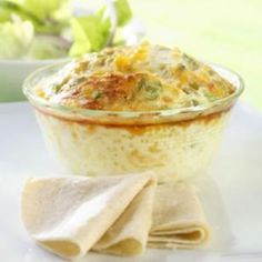 Mini Chile Relleno Casseroles Recipe from Eating Well