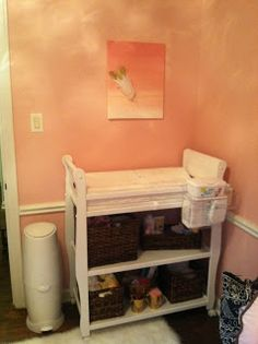 baby girl nursery reveal
