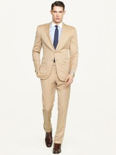 Anthony Gabardine Suit