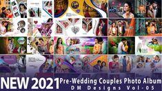 20 Fully Editable Creative Photo Album 12x36 PSD Templates