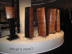 The upcoming Sonus faber Olympica. Stunning!