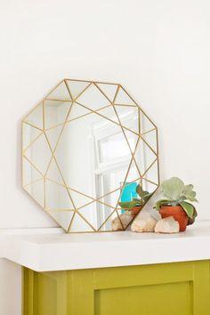 DIY miroir géométrique