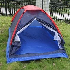 Waterproof Single Layer Hiking Camping Tent - FIND OUT ADDITIONAL DETAILS @: http://www.best-outdoorgear.com/waterproof-single-layer-hiking-camping-tent/