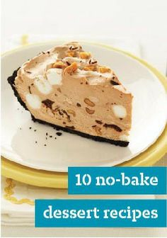 No-Bake Dessert Recipes When you need something quick and easy, look no farther than our no-bake dessert recipes.