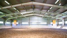 Batiments industriels et agricoles en kit | Bâtiments Moins Chers Steel Frame, Basketball Court, Sliding Door, Industrial