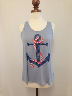 American Anchor Tank #bellaellaboutique #pinittowinit