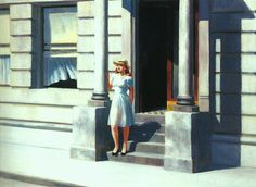 Summertime, Oil On Canvas by Edward Hopper (1931-1967, United States)