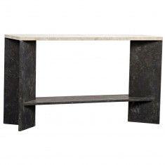 CAROLINE CONSOLE TABLE. Noir Anvil Console