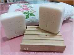 Ο ΝΕΡΑΙΔΟΚΗΠΟΣ της Eλενης-Aντζελινας!/Χειροποιητα σαπουνια-καλλυντικα/ΕLENI'S FAIRY GARDEN: ''PERFECT SEDUCTION'' Donkey Milk & Honey spa soap