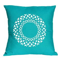 Diamond circle cushion cover