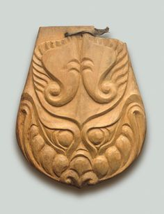 Saddle Pendant Showing a Stylized Tiger's Head | Pazyryk Culture | 5th - 4th century BC