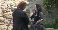 Outlander. Those sleeves are knit and laced into the woven bodice