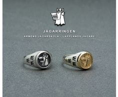 The Arctic Ranger Ring. Exclusivly designed and produced for Swedish rangers who has served at Arméns Jägarskola, Kiruna and Lapplandsjägarna (I22), Lapland Ranger Regiment, Kiruna. Not for sale.