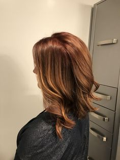 Asked my stylist for Pumpkin Spice Latte hair and she delivered! http://ift.tt/2zgq7d2