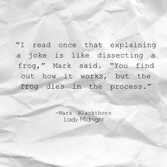 Lady Midnight Mark Blackthorn