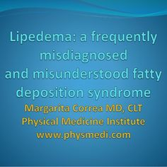 https://www.slideshare.net/mobile/physmedi/lipedema-a-misdiagnosed-and-misunderstood-fatty-deposition-syndrome
