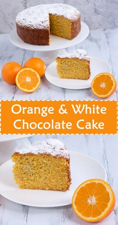 Orange & White Chocolate Cake