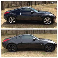 Dipped my 350z. Mean look!