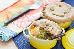 Vegetable Pot Pie  with Whole Wheat Crust. Visit http://www.blueapron.com/ to receive the ingredients.