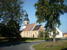 Church of the village of Fermerswalde (Herzberg/Elster, Elbe-Elster district, Brandenburg)