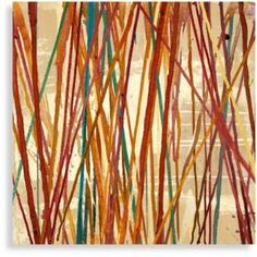 Like the mix of warm colors in this wall art. Bed Bath & Beyond Color Chaos Wall Art Modern Wall Art, Metal Wall Art, Canvas Wall Art, Contemporary Art, Brown Home Decor, Dining Room Art, Images Of Colours, Tile Projects, Inspirational Wall Art