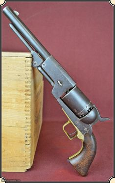Counterfeit of a rare Colt Walker percussion revolver. This Counterfeit (Fake) copy of the famous Colt Walker and was completely handmade and such guns have developed a collectable status on their own. It is definitely not one of the Italian copies being produced today. Nobody knows how many of these fakes were ever made and when. Some say there were makers in Texas, Mexico and even Iowa