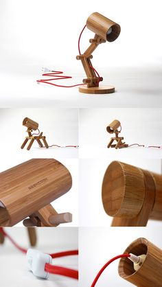 You can put together your own bamboo desk lamp and be assured it is completely eco-friendly.