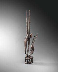 CI WARA BAMANA CREST Bodies, Rite De Passage, British Museum