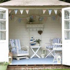 beach yard shed - great pool house too