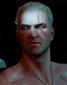 Geralt Of Rivia, The Witcher 3, Wild Hunt, Kakashi, Playstation, Fun Stuff, Gifs, Fandoms, Manga