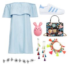 """Untitled #31"" by fluffy-bunny4 ❤ liked on Polyvore featuring BB Dakota, adidas, Rachel Rachel Roy and Lilly Pulitzer"