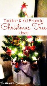 Kid Friendly Christmas Tree Ideas