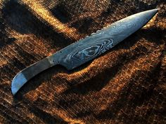 HANDMADE, DAMASCUS steel CHEF KNIFE 0nly ( 2mm ) THICKNESS WITH FANCY HAND WORK #HANDMADE